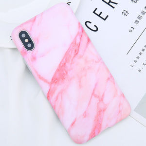Accessories - Pink Marble iPhone Case 7 8 Plus X XS XR Max